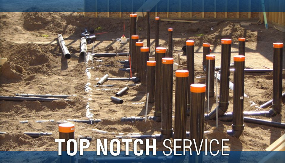 Top Notch Service - Underground Plumbing